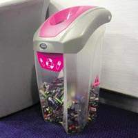 C-Thru Nexus® 30 Battery Recycling Bin