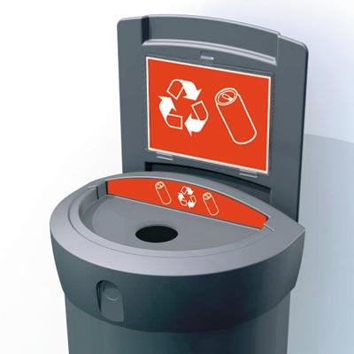 Envoy™ Can Recycling Bin - 90 Ltr
