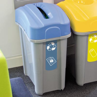 Eco Nexus® 60 Confidential Paper Recycling Bin