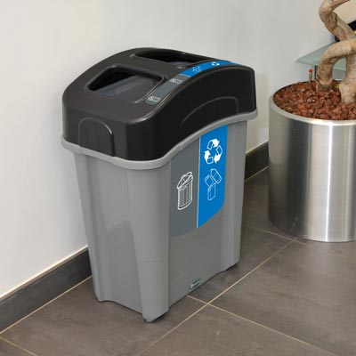 Eco Nexus Duo 60 Recycling Bin.