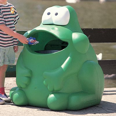 Froggo™ Animal Shaped Litter Bin