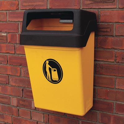 Hooded Trimline 25™ Litter Bin
