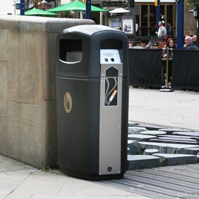 Integro™ Cigarette/Litter Bin