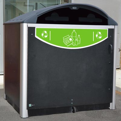 Modus™ 1280 Mixed Recyclables Recycling Housing