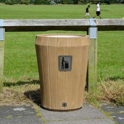 Sherwood™ Litter Bin with Open Top
