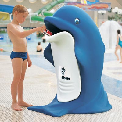 Splash™ Animal Shaped Litter Bin