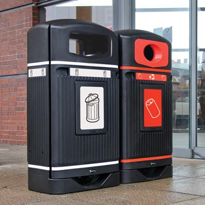 StreamlineJubilee Recycling Bin